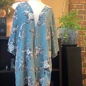 Cute kimono style over top